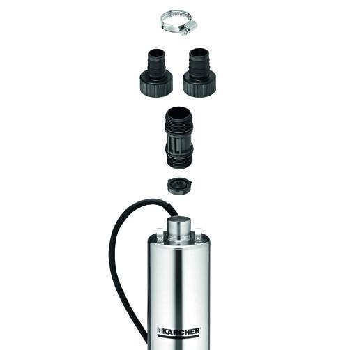 скважинный насос BP 6 Deep Well: Включает насос, коннекторы и обратный клапан