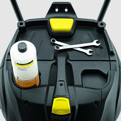 Пылесос влажной и сухой уборки NT 75/2 Ap Me Tc: Удобное хранение кабеля на корпусе